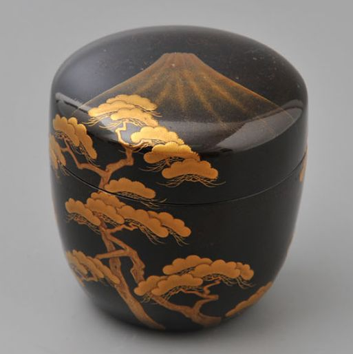 2-194japanese gold lacquer,makie