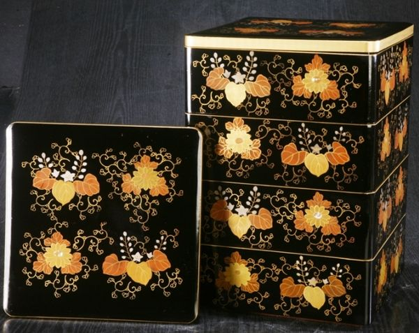 2-152japanese gold lacquer,makie