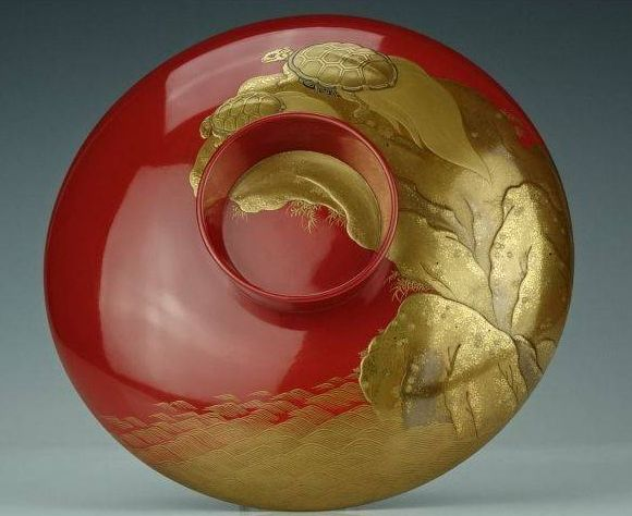 japanese gold lacquer,makie4-106