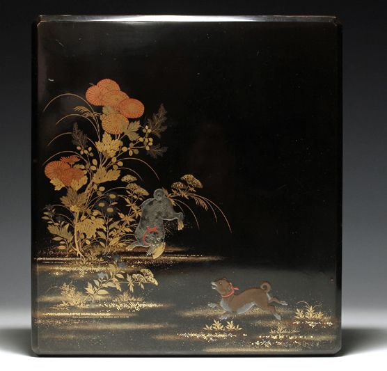 2-291japanese gold lacquer,makie