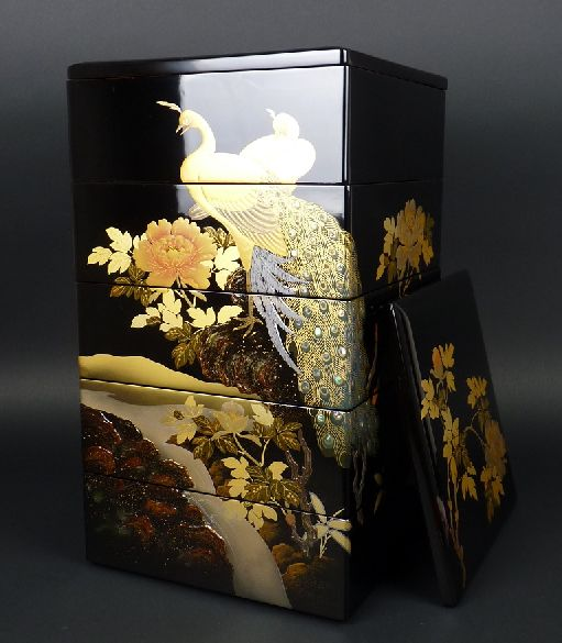 2-71japanese gold lacquer,makie