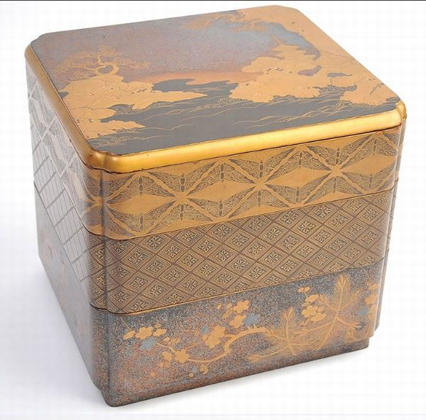 japanese gold lacquer,makie5-124