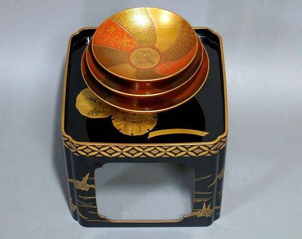 japanese gold lacquer,makie4-207
