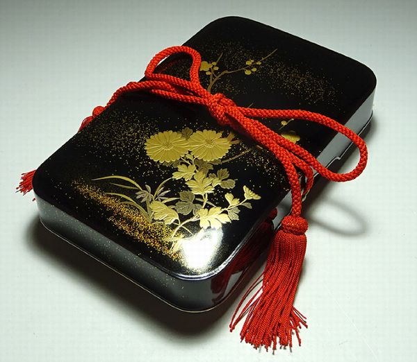 2-118japanese gold lacquer,makie