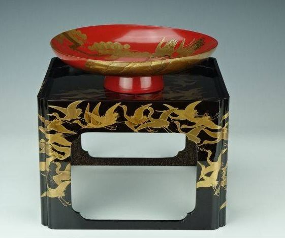japanese gold lacquer,makie4-108