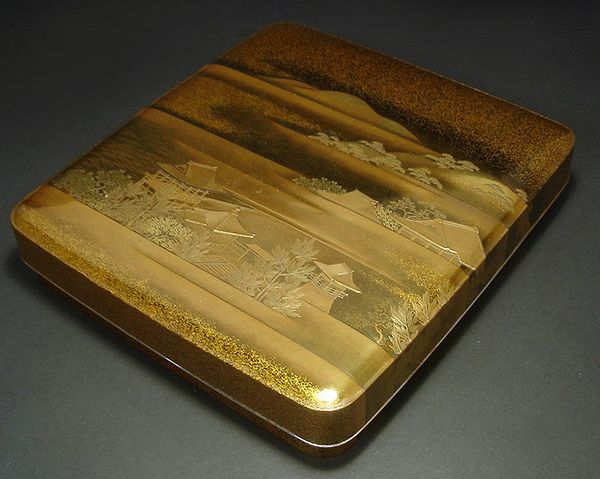 japanese gold lacquer,makie4-209