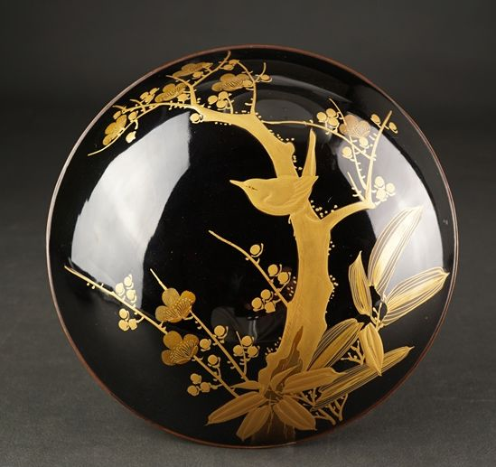2-120japanese gold lacquer,makie