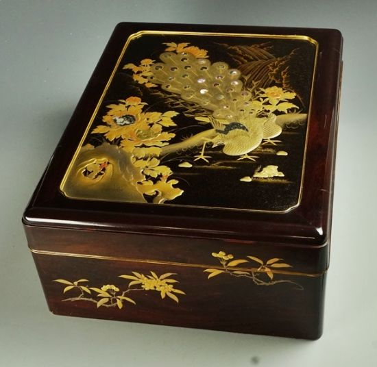 2-73japanese gold lacquer,makie
