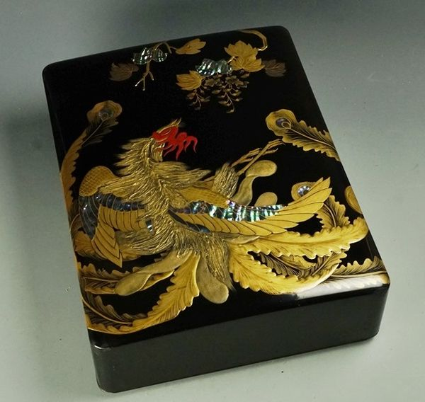japanese gold lacquer,makie4-212