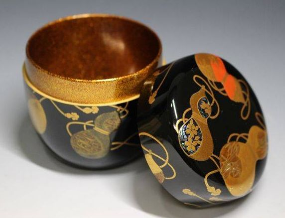 2-295japanese gold lacquer,makie