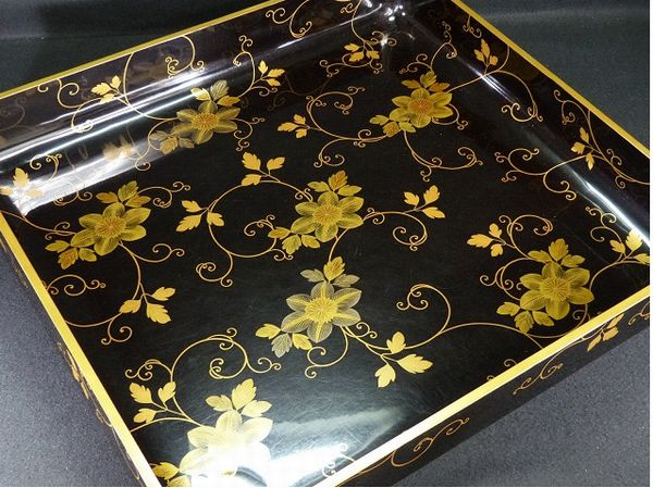 japanese gold lacquer,makie5-128