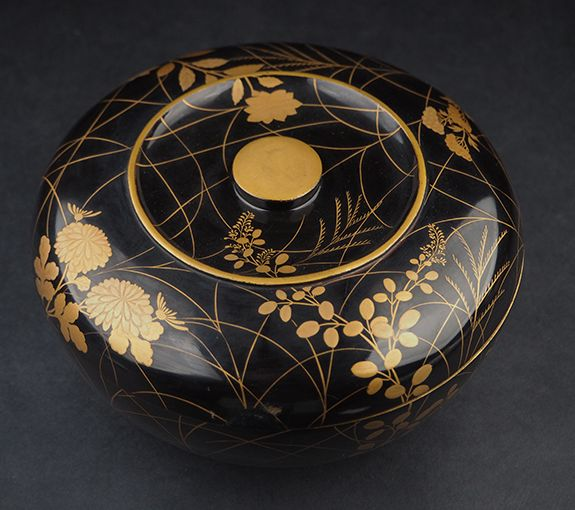 2-156japanese gold lacquer,makie