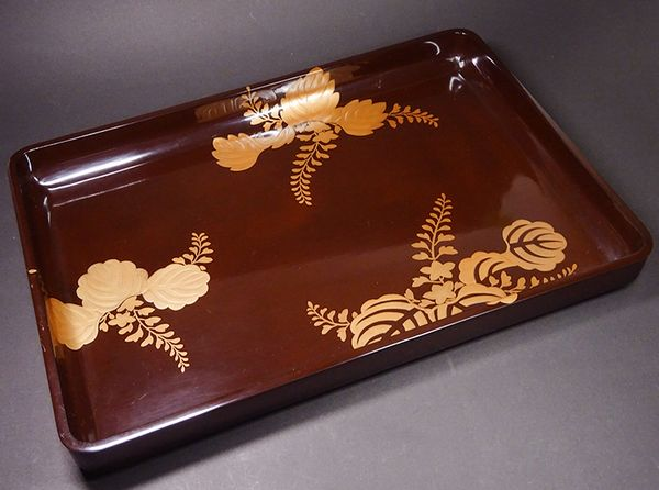 2-121japanese gold lacquer,makie