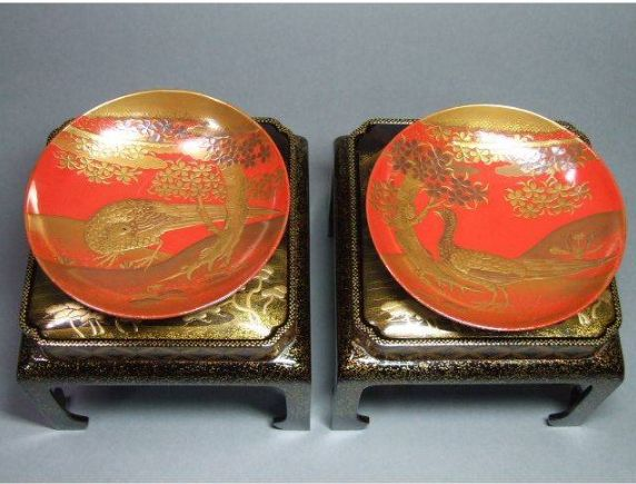 2-26japanese gold lacquer,makie