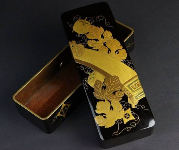 japanese gold lacquer,makie5-162