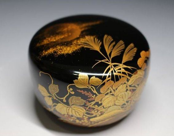 japanese gold lacquer,makie4-210