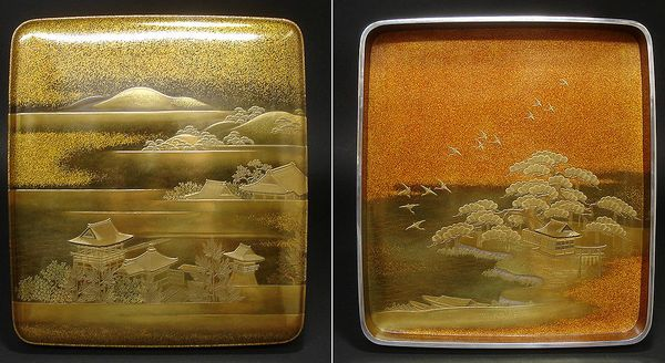 japanese gold lacquer,makie4-284