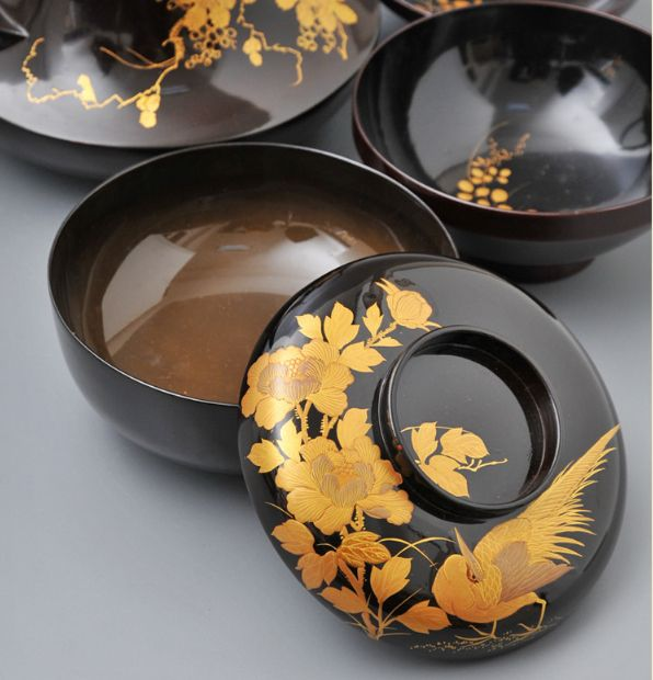 2-92japanese gold lacquer,makie