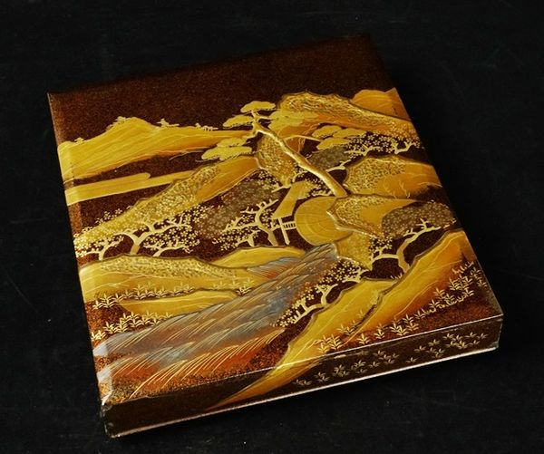 japanese gold lacquer,makie4-215