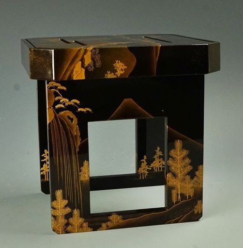 2-202japanese gold lacquer,makie