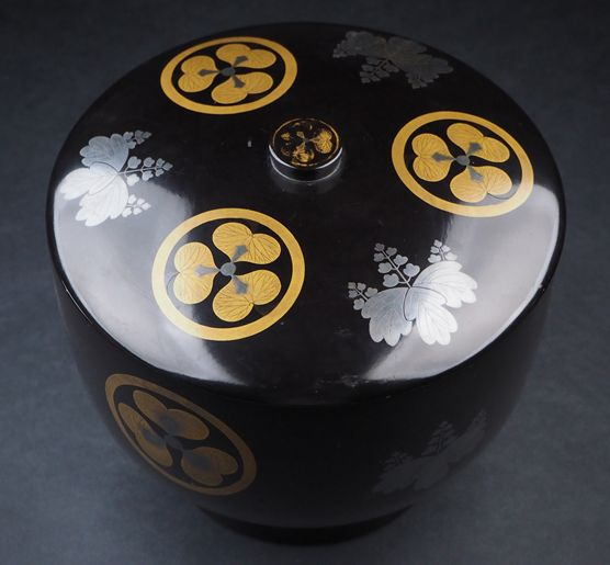 2-159japanese gold lacquer,makie