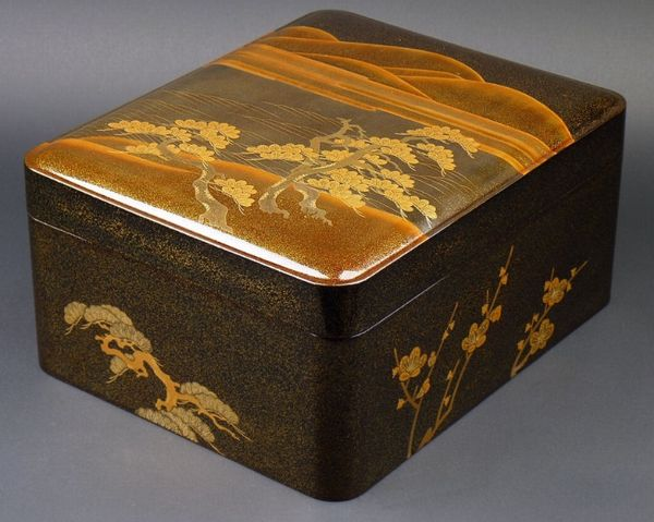 japanese gold lacquer,makie5-164