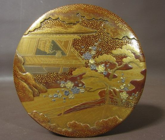 japanese gold lacquer,makie4-312