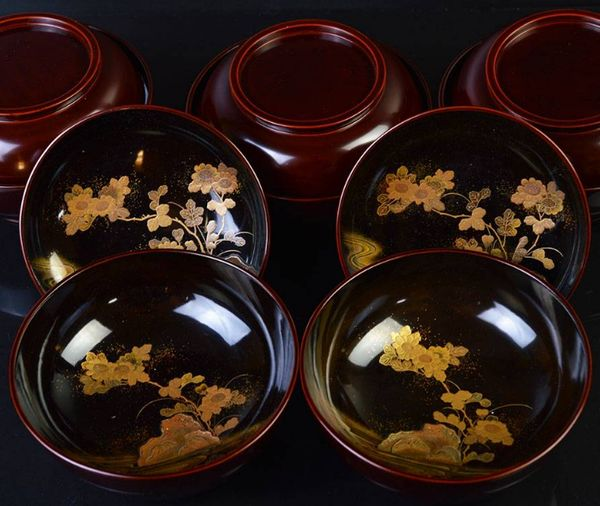 2-204japanese gold lacquer,makie
