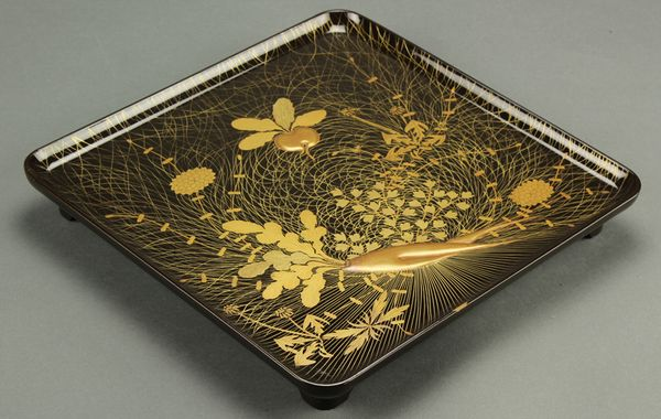 japanese gold lacquer,makie5-133