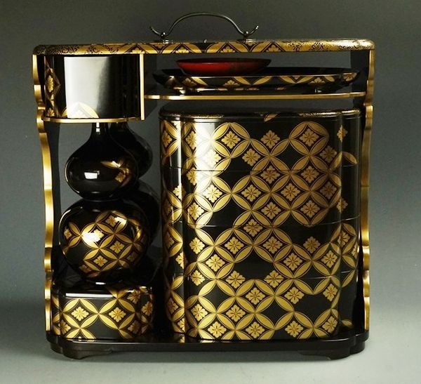 japanese gold lacquer,makie5-60