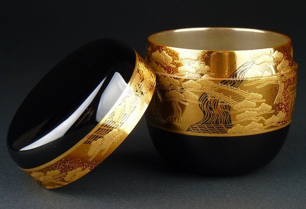 japanese gold lacquer,makie4-216