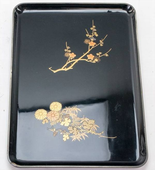 2-127japanese gold lacquer,makie