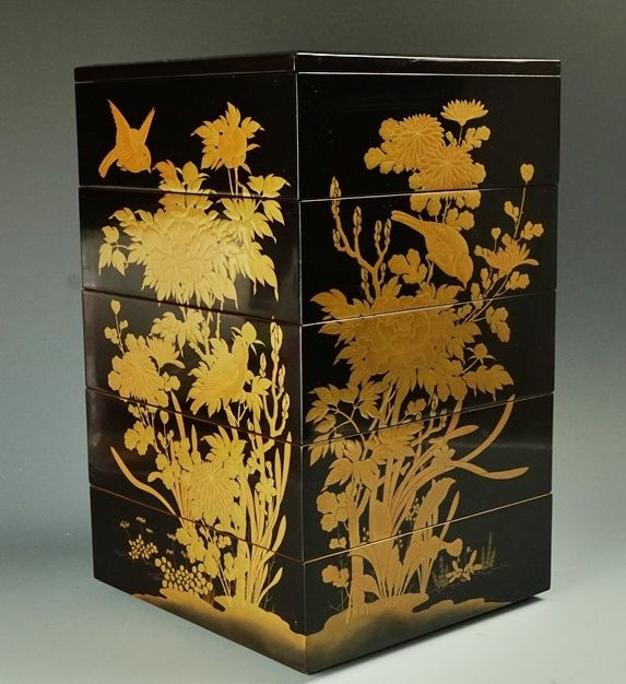 2-32japanese gold lacquer,makie
