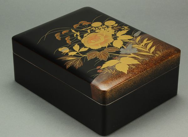 japanese gold lacquer,makie5-168