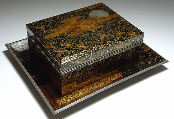 japanese gold lacquer,makie5-62
