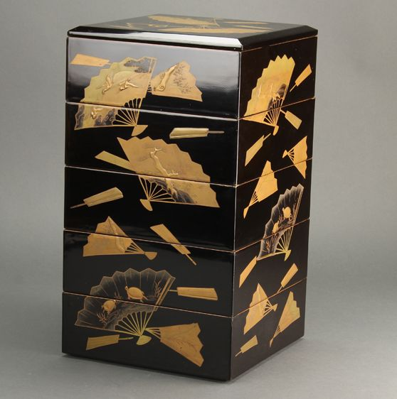 2-161japanese gold lacquer,makie