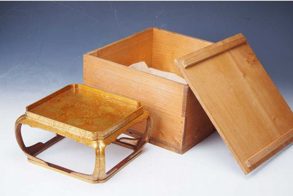 japanese gold lacquer Small Meal 10214935