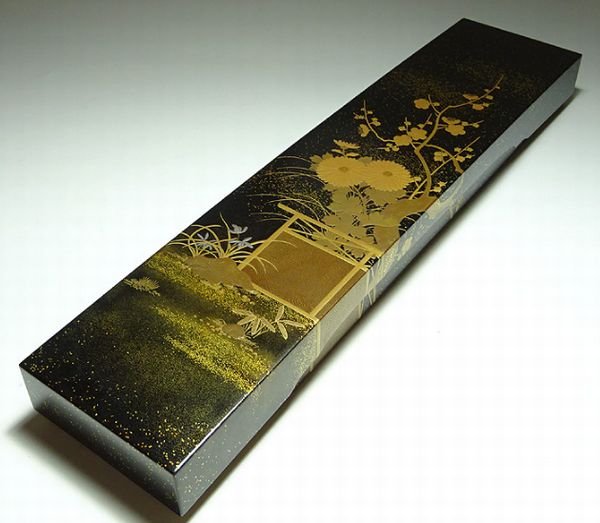 2-130japanese gold lacquer,makie