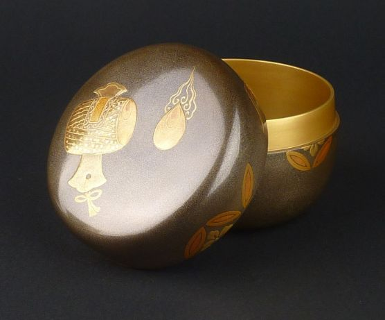 2-211japanese gold lacquer,makie