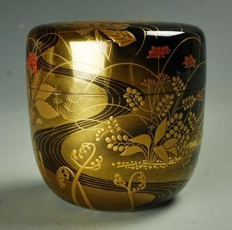 2-81japanese gold lacquer,makie