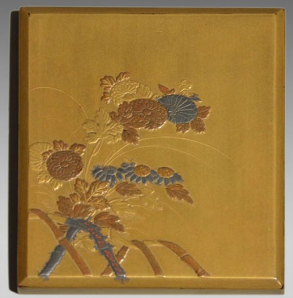 2-169japanese gold lacquer,makie