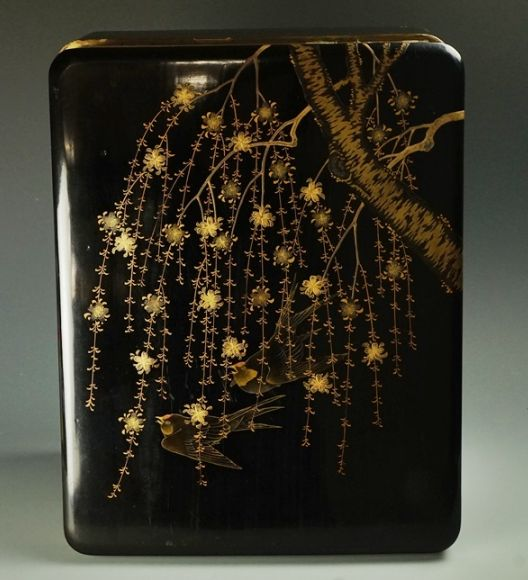 japanese gold lacquer,makie4-64
