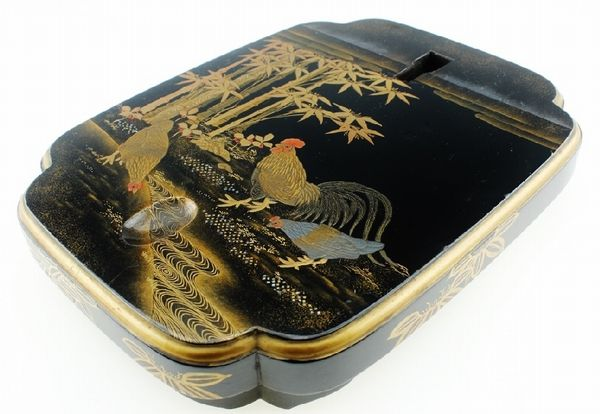 japanese gold lacquer,makie4-121