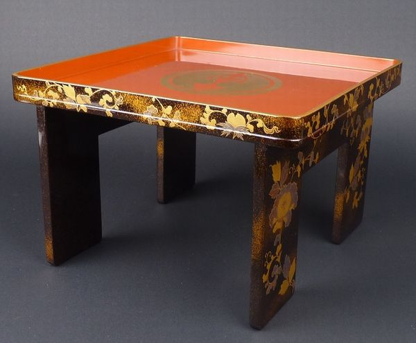 2-219japanese gold lacquer,makie