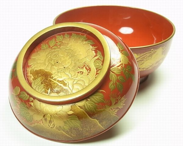 2-221japanese gold lacquer,makie