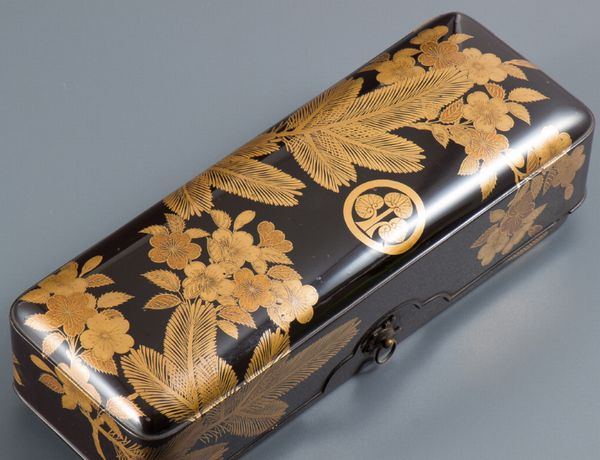 2-46japanese gold lacquer,makie
