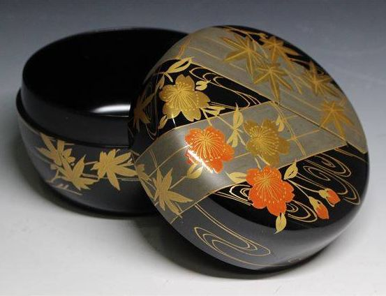 japanese gold lacquer,makie5-138