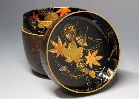 japanese gold lacquer,makie5-105