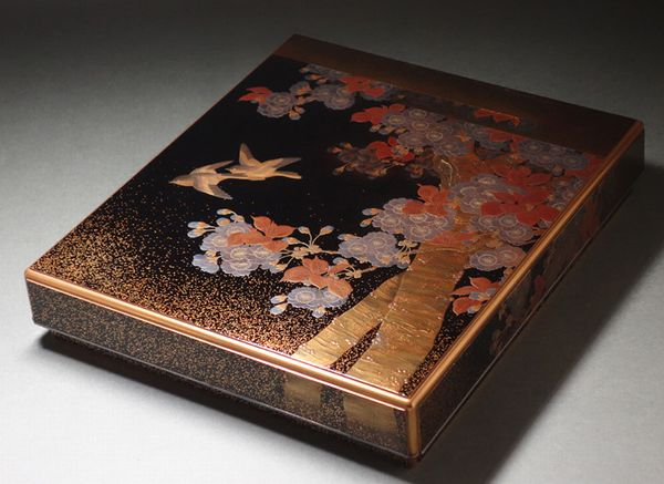 japanese gold lacquer,makie4-88