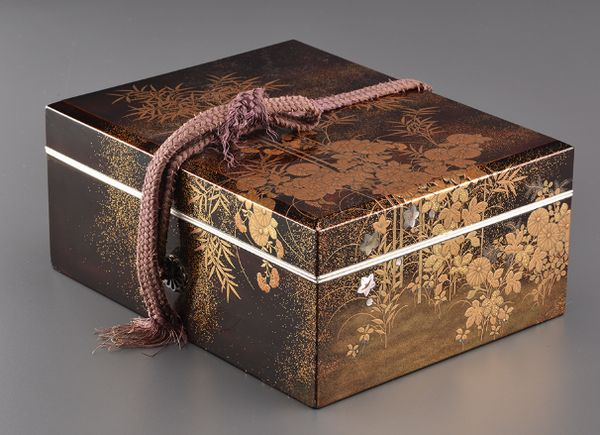 5japanese gold lacquer Writing box 09252252